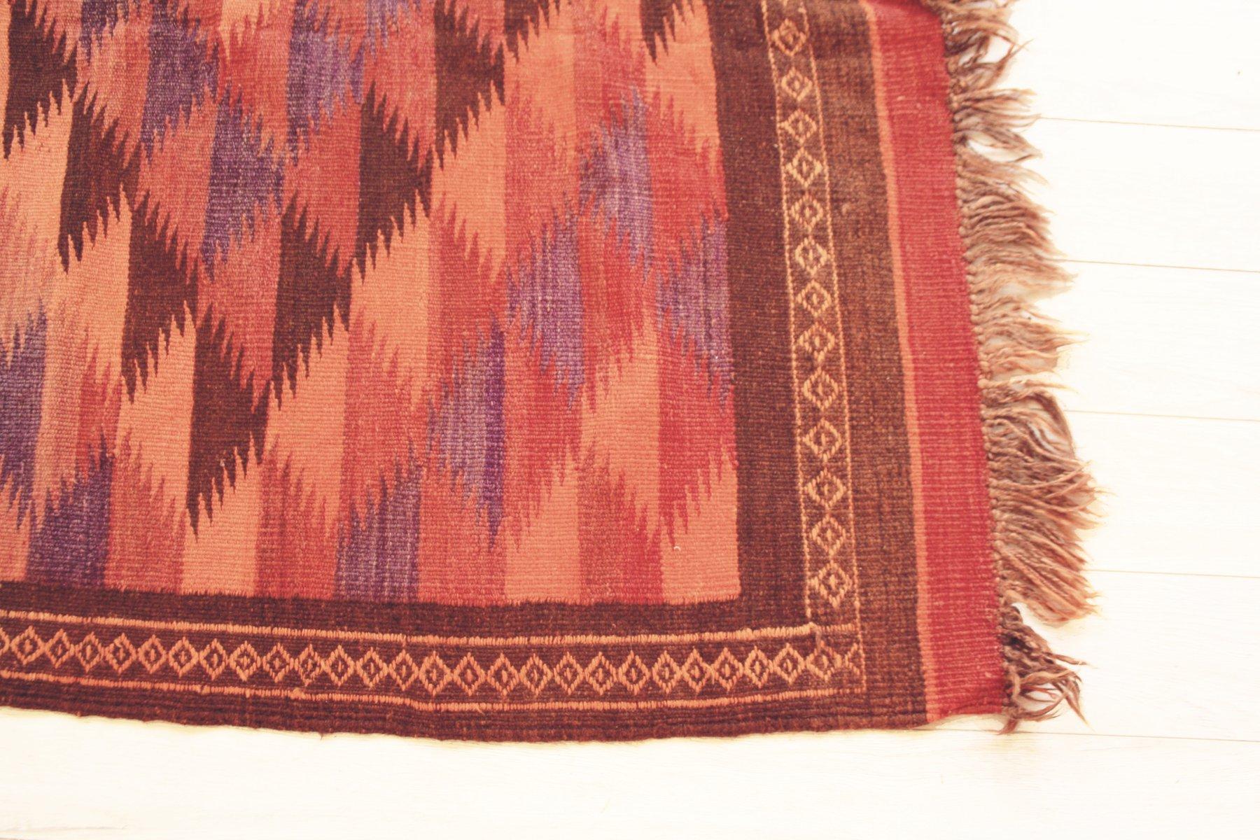 gro er handgekn pfter uzbek teppich bei pamono kaufen. Black Bedroom Furniture Sets. Home Design Ideas