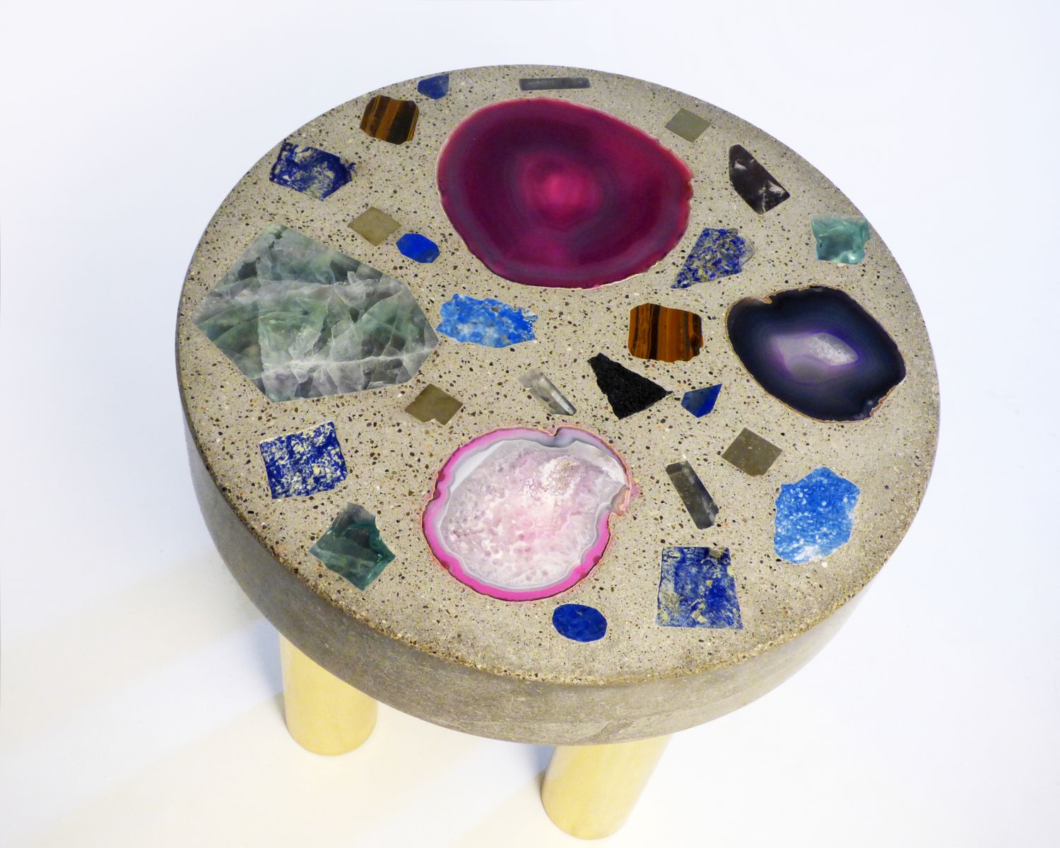 Cloud Table with Semi-Precious Stones by Studio Superego for sale ...