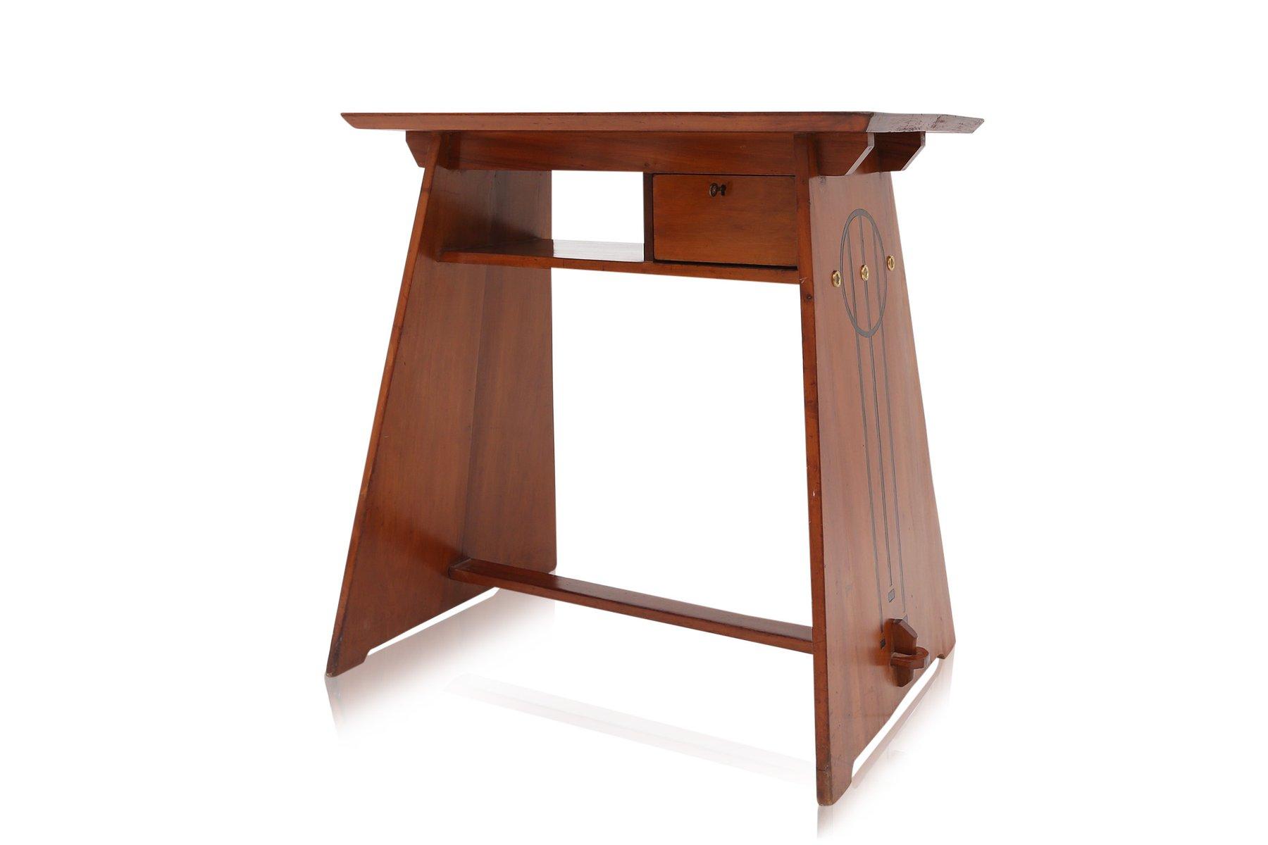 moderner italienischer walnuss schreibtisch bei pamono kaufen. Black Bedroom Furniture Sets. Home Design Ideas