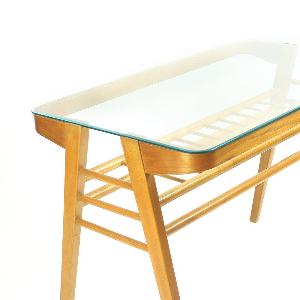 Tschechischer tisch mit glasplatte 1960er bei pamono kaufen for Glasplatte tisch