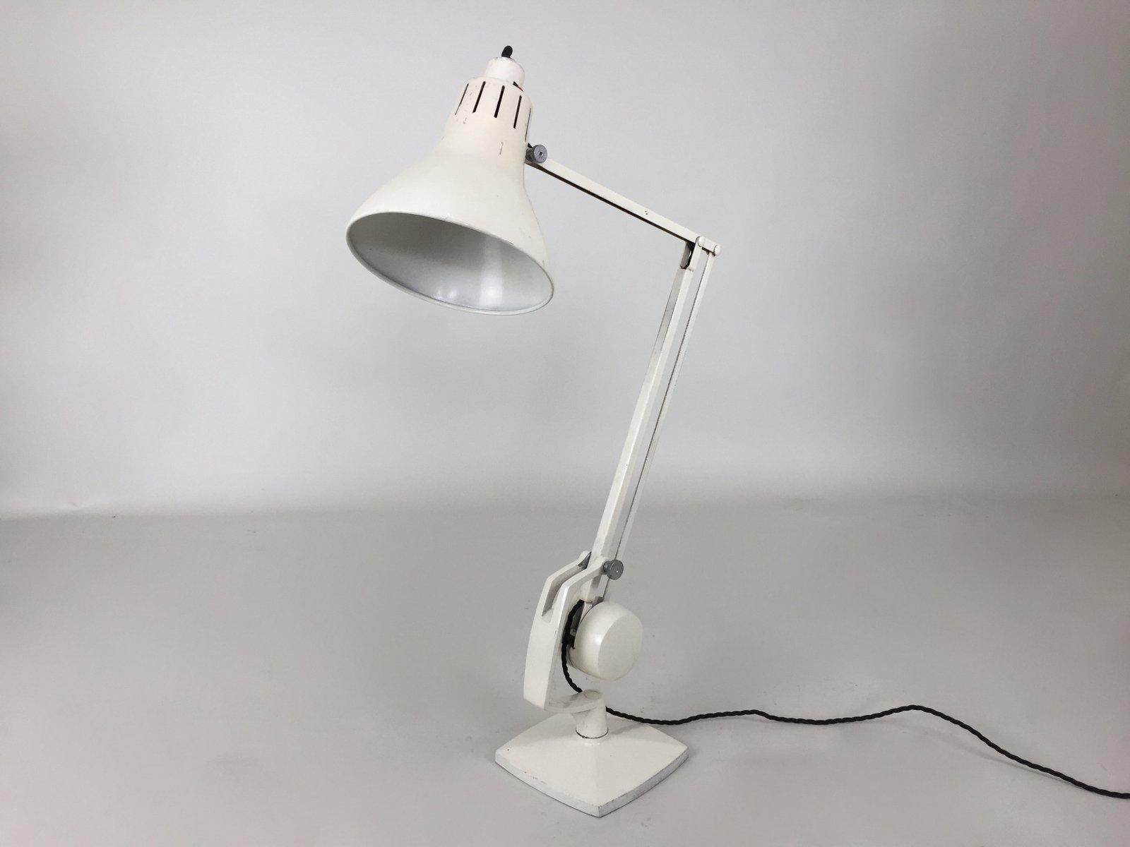 British Industrial Desk Lamp From Hadrill Horstman, 1950s