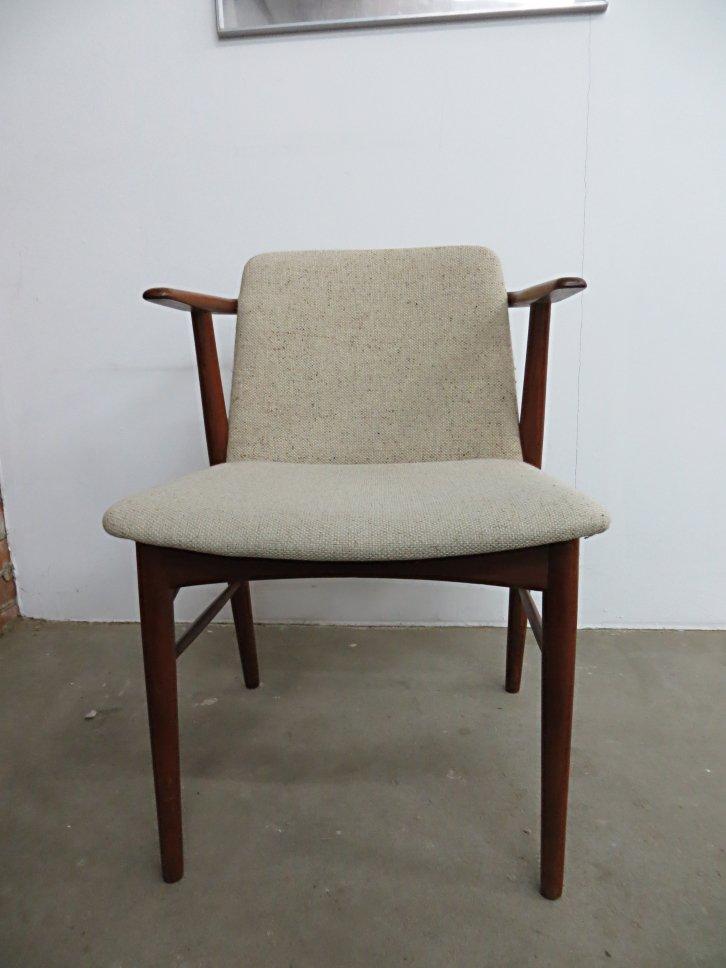 Mid Century Danish Teak Armchair By Hans Olsen For Bramin, 1960s