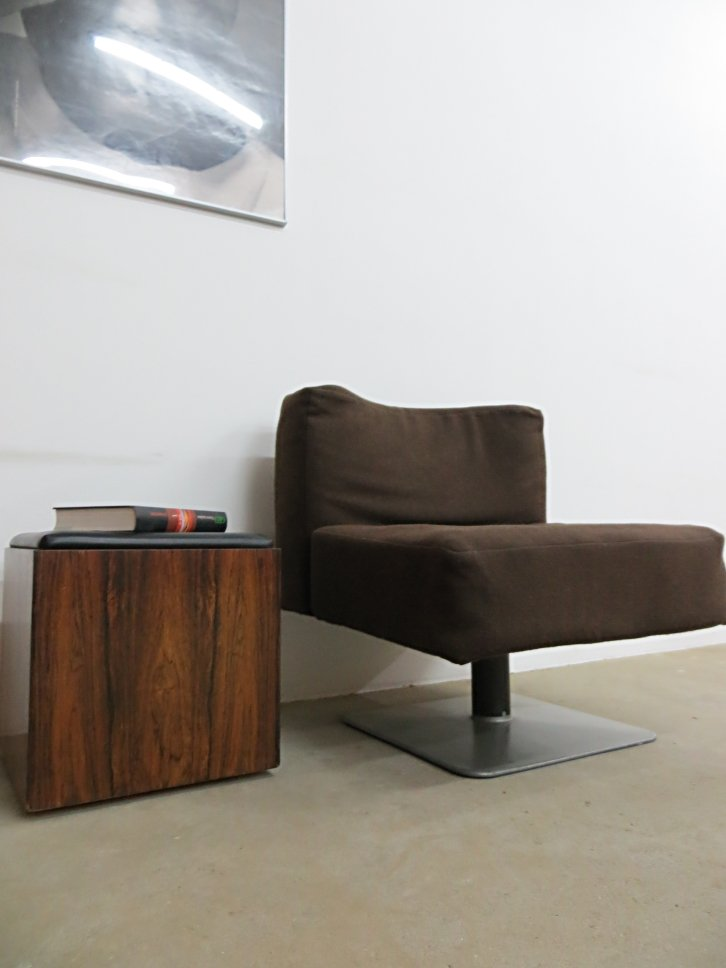 system 350 lounge chair by herbert hirche for mauser werke. Black Bedroom Furniture Sets. Home Design Ideas