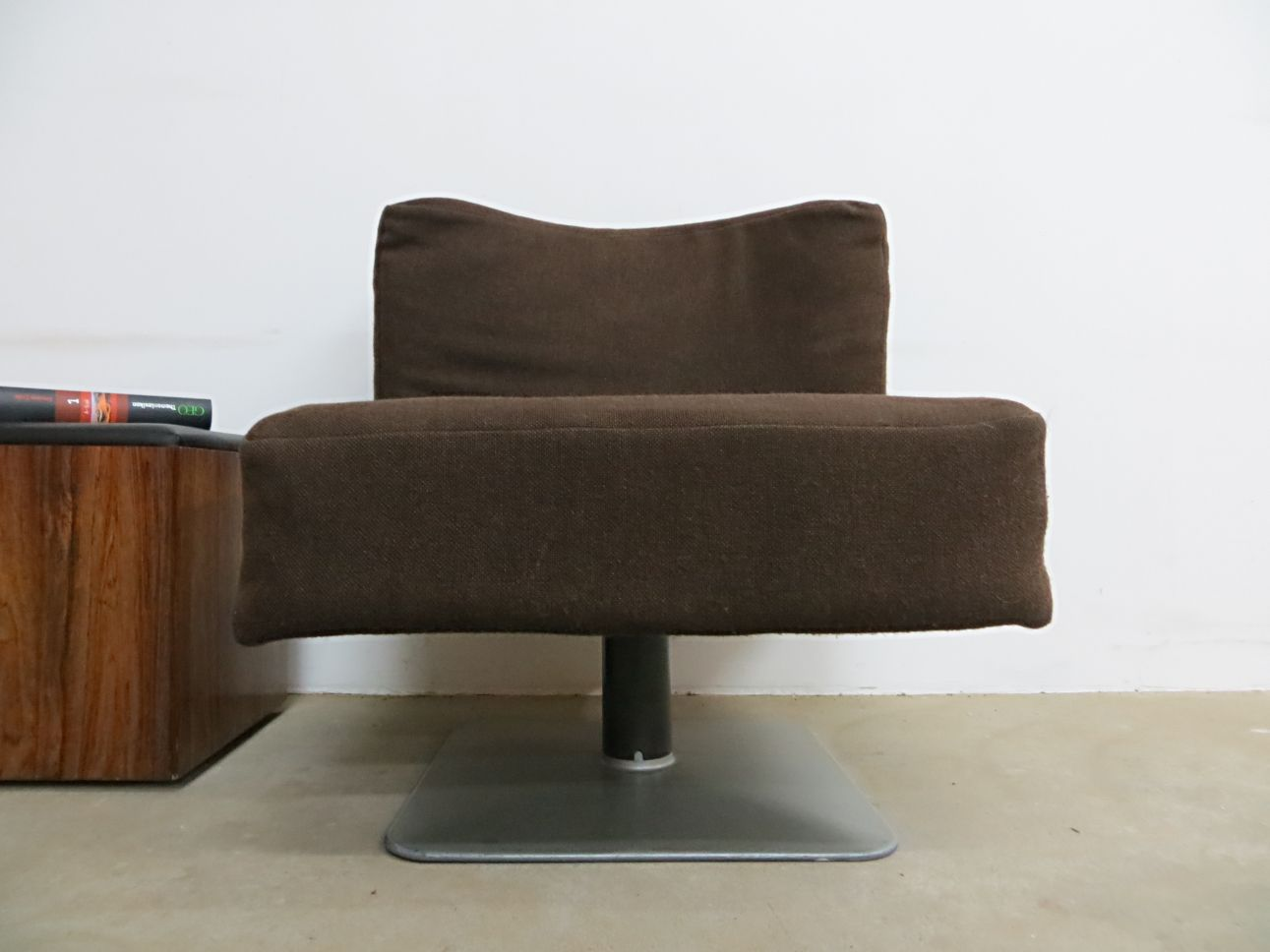 system 350 lounge chair by herbert hirche for mauser werke 1970s for sale at pamono. Black Bedroom Furniture Sets. Home Design Ideas