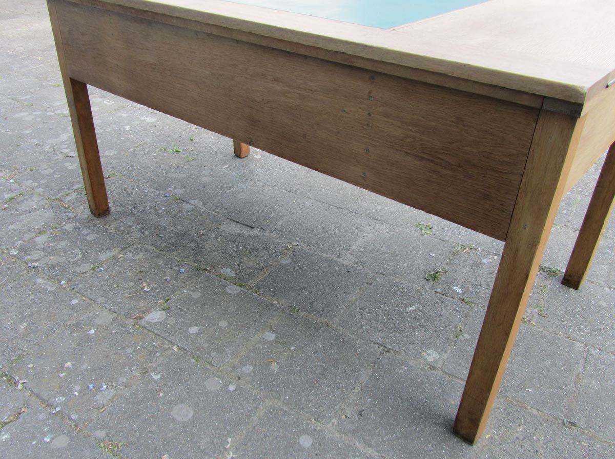 rustikaler industrieller vintage schreibtisch aus eiche bei pamono kaufen. Black Bedroom Furniture Sets. Home Design Ideas