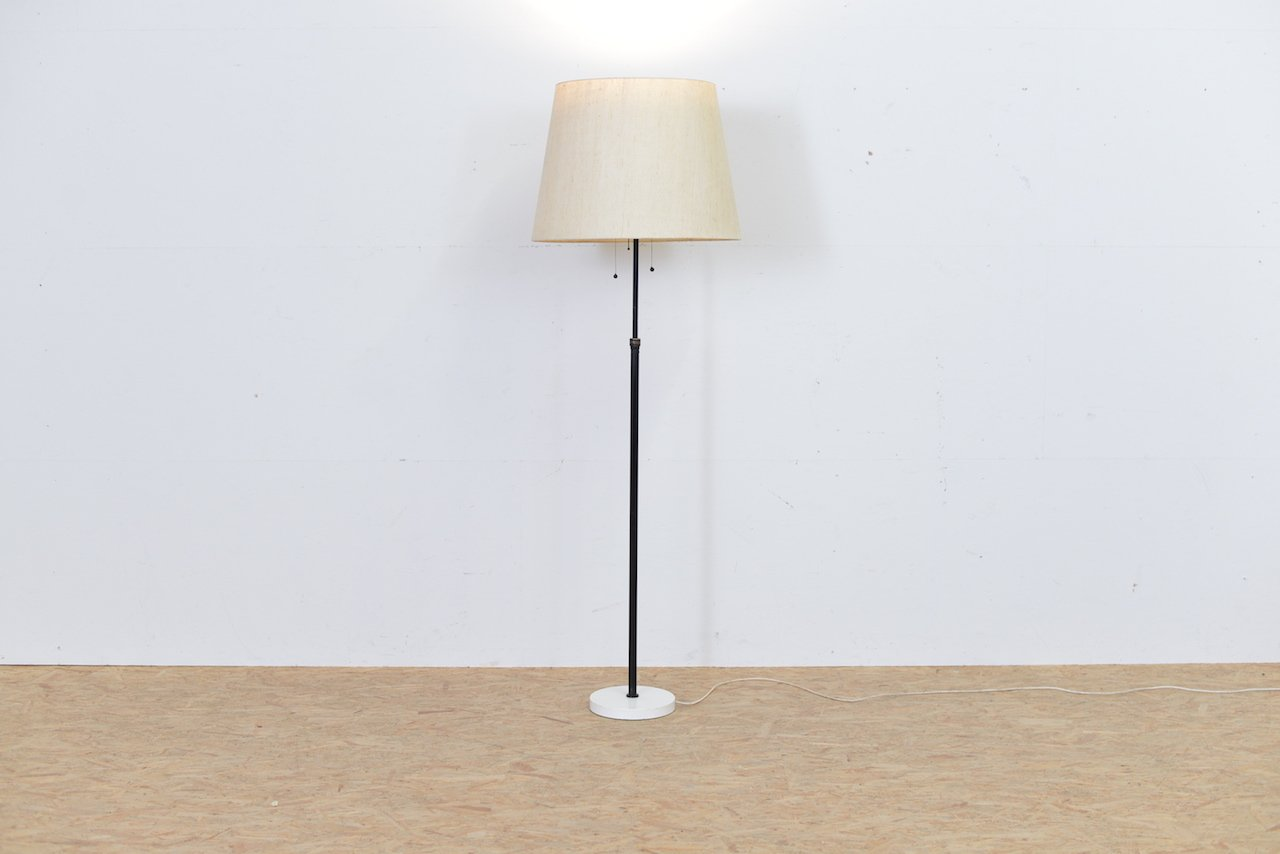 Vintage height adjustable metal floor lamp for sale at pamono vintage height adjustable metal floor lamp mozeypictures Images