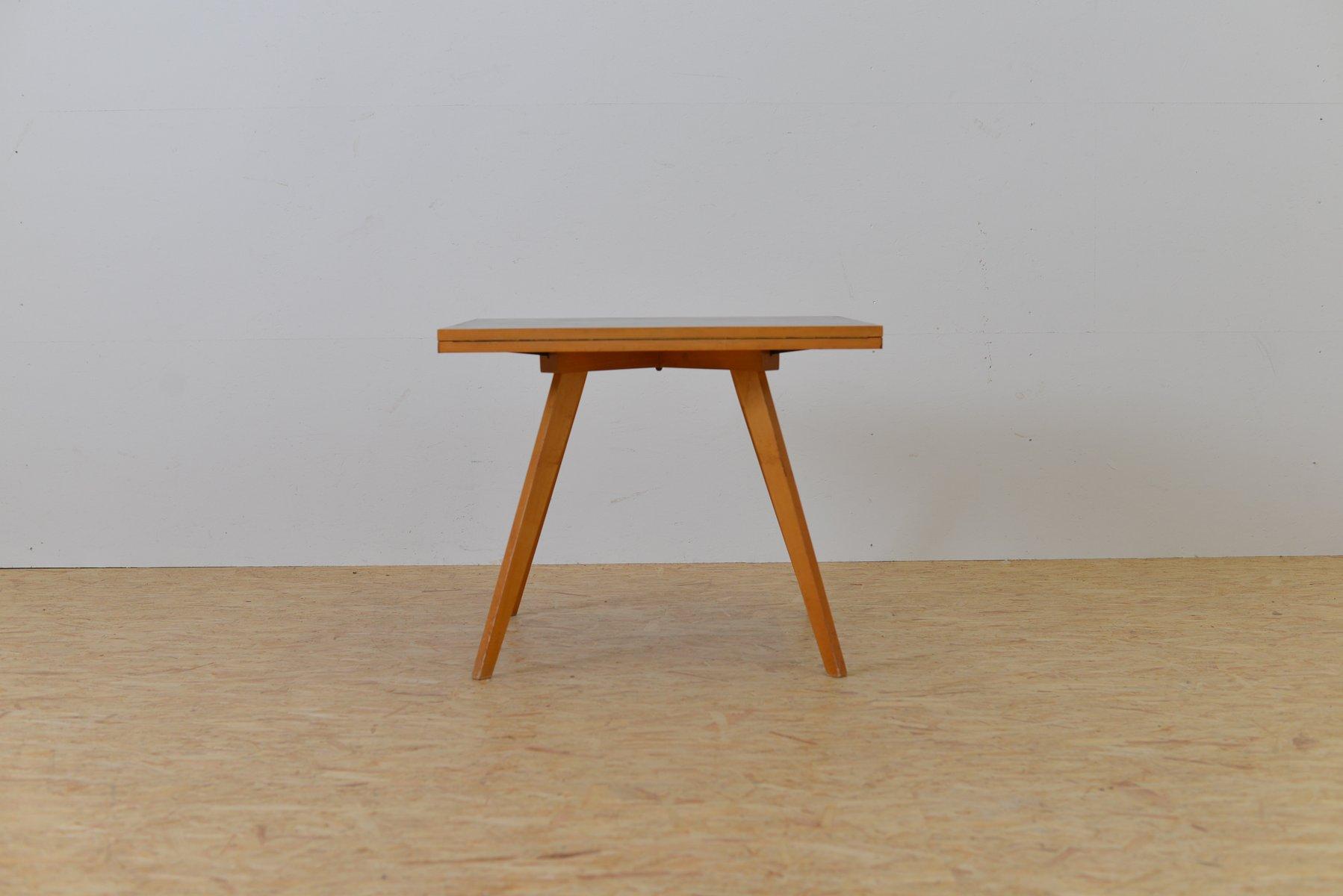 Vintage Quadratrund Tisch von Max Bill für Horgen Glarus bei Pamono ...