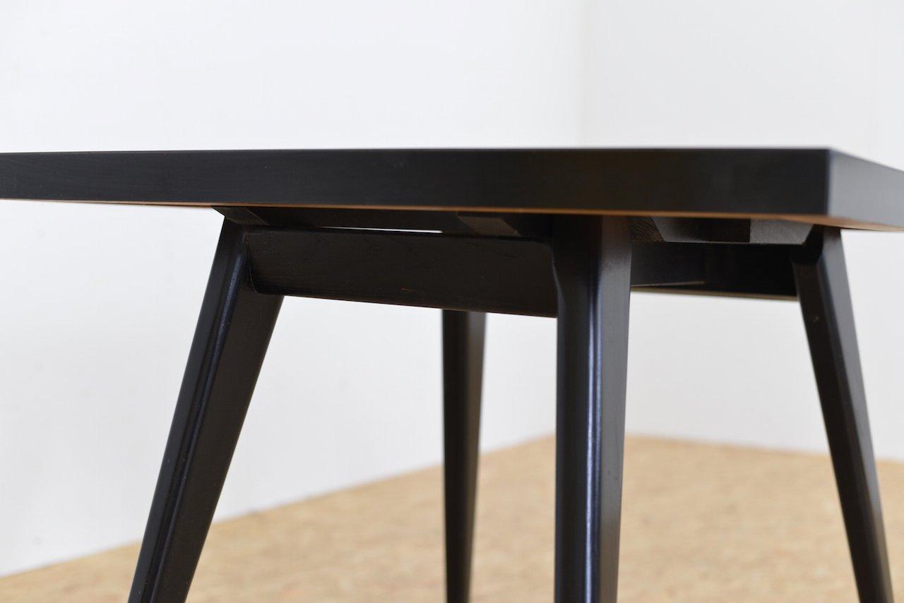 h henverstellbarer mid century esstisch bei pamono kaufen. Black Bedroom Furniture Sets. Home Design Ideas