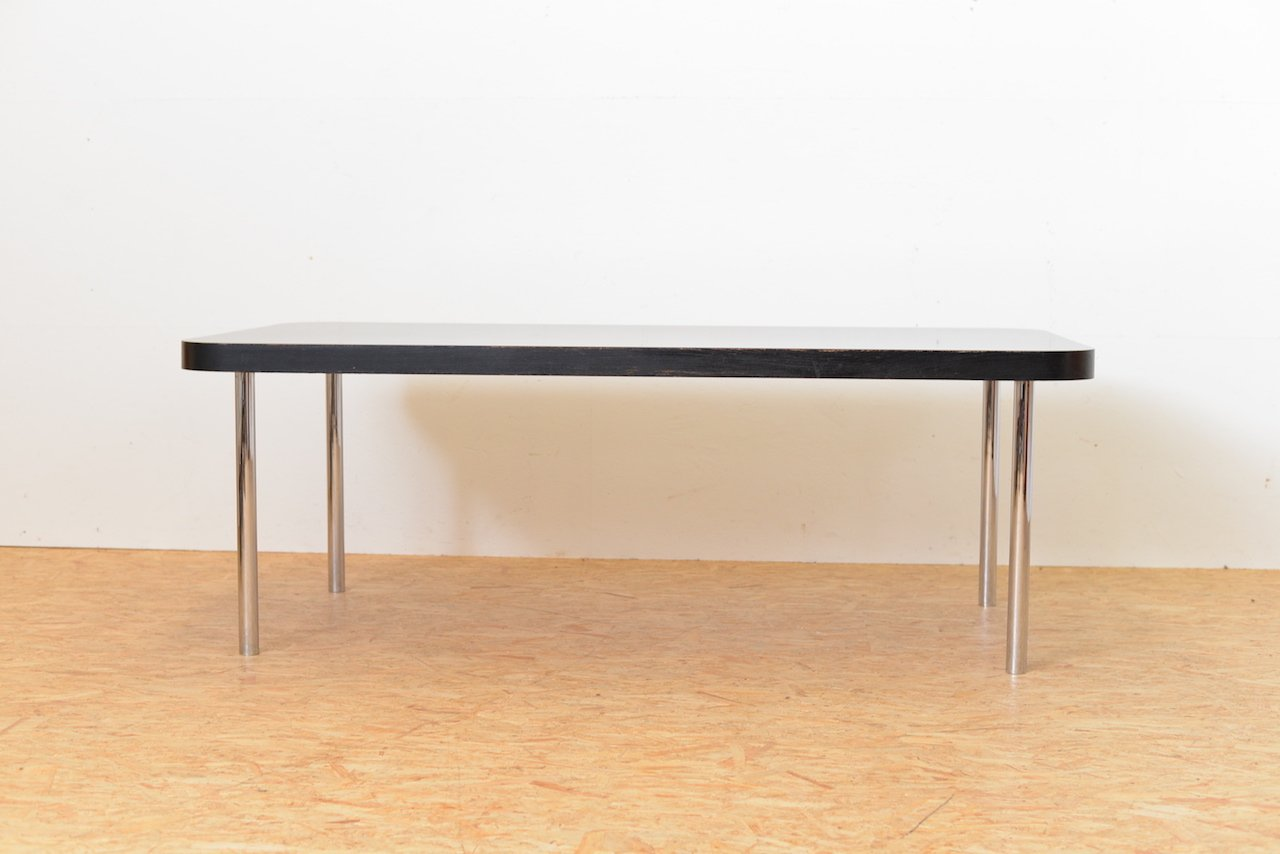 Vintage Black Table By Marcel Breuer For Embru / Wohnbedarf