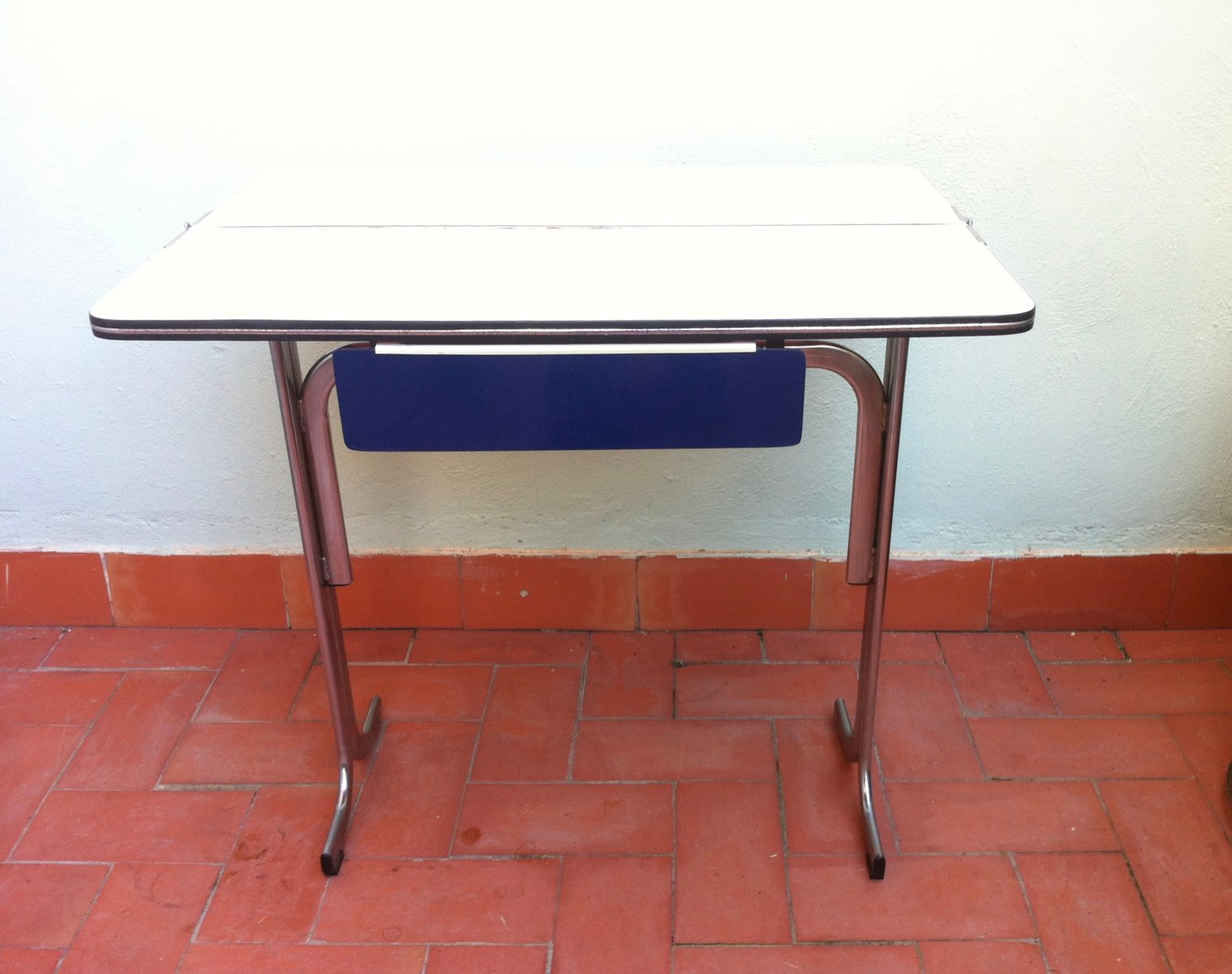 belgian formica folding kitchen table with drawer 1960s belgian formica folding kitchen table with drawer 1960s for sale      rh   pamono eu