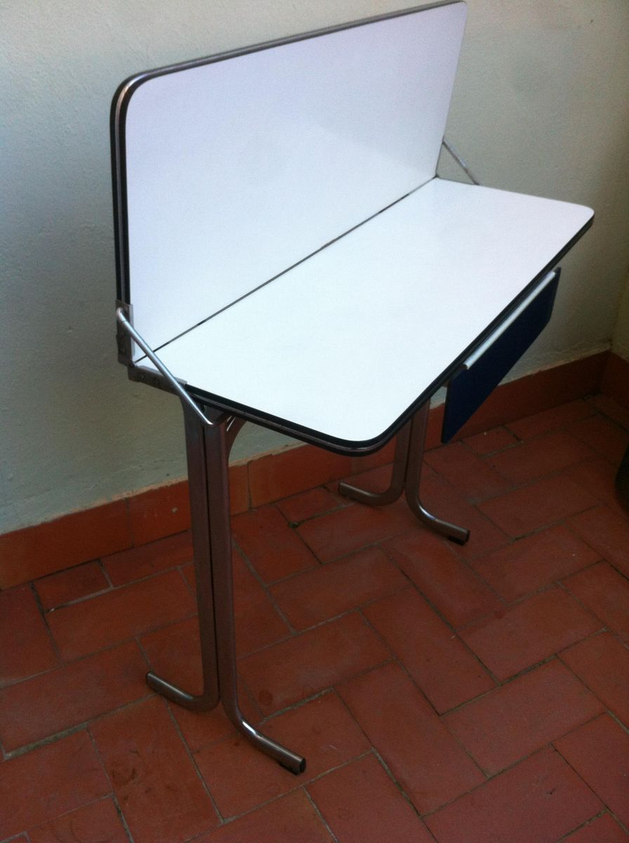 u20ac350 00 belgian formica folding kitchen table with drawer 1960s for sale      rh   pamono eu