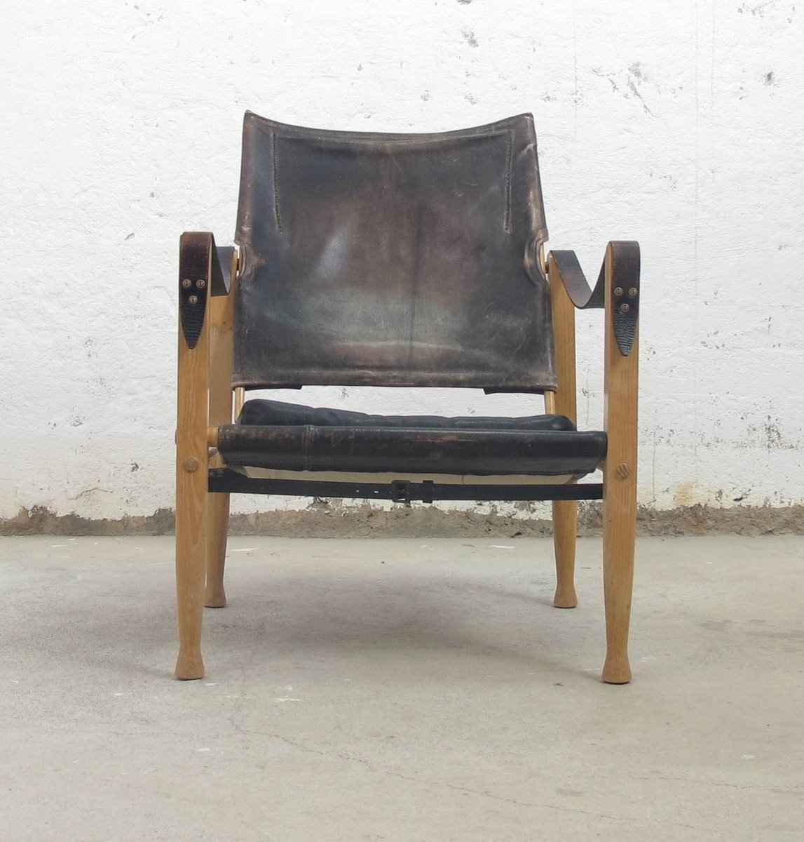 Vintage Safari Chair By Kaare Klint For Rud Rasmussen