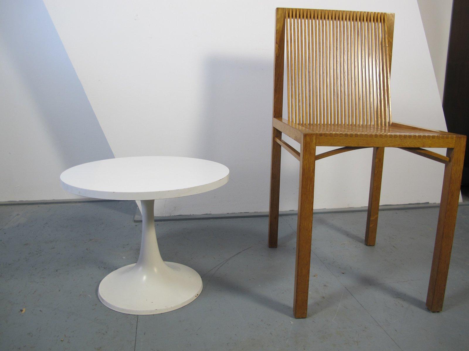 wei er vintage tulip tisch von pastoe 1970er bei pamono kaufen. Black Bedroom Furniture Sets. Home Design Ideas