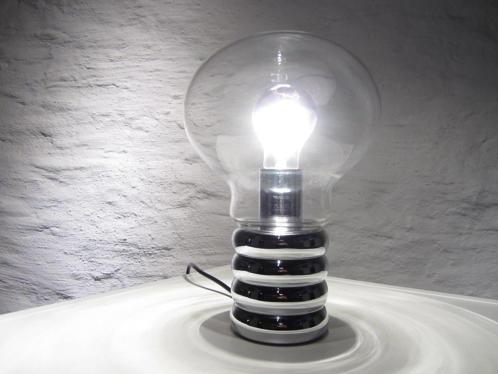 bulb table lamp by ingo maurer for studio m 1970s for. Black Bedroom Furniture Sets. Home Design Ideas