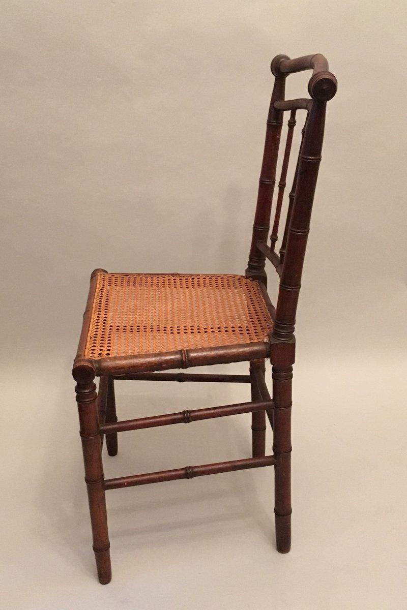 jugendstil st hle mit geflochtenem sitz 1910er 4er set. Black Bedroom Furniture Sets. Home Design Ideas