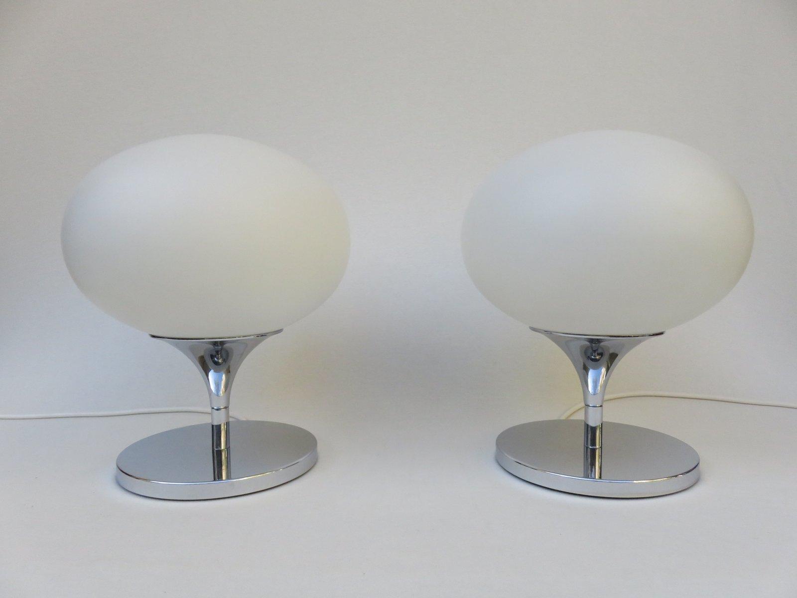 tischlampen von kaiser leuchten 1970er 2er set bei. Black Bedroom Furniture Sets. Home Design Ideas