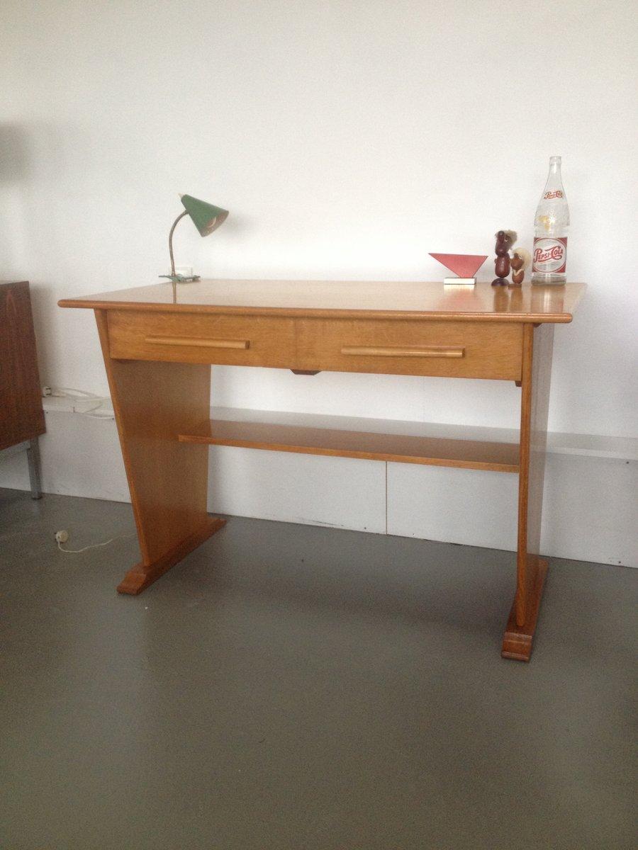kleiner niederl ndischer vintage schreibtisch von gouda. Black Bedroom Furniture Sets. Home Design Ideas