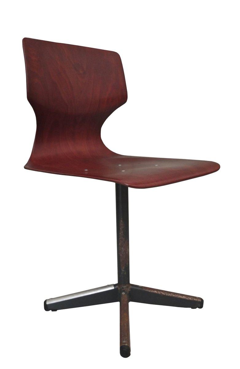 deutscher klassenzimmer stuhl von pagholz fl totto 1960er bei pamono kaufen. Black Bedroom Furniture Sets. Home Design Ideas