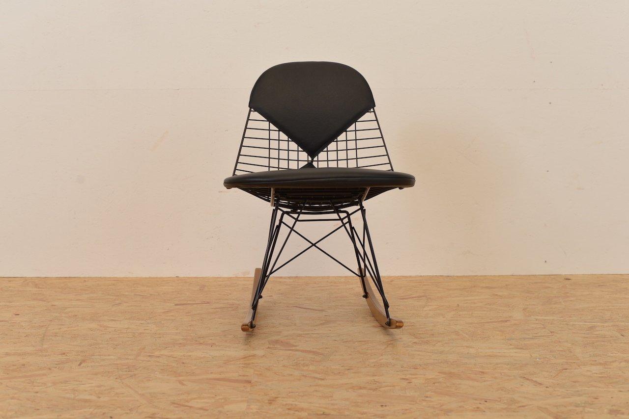 wire schaukelstuhl von ray und charles eames f r vitra bei pamono kaufen. Black Bedroom Furniture Sets. Home Design Ideas