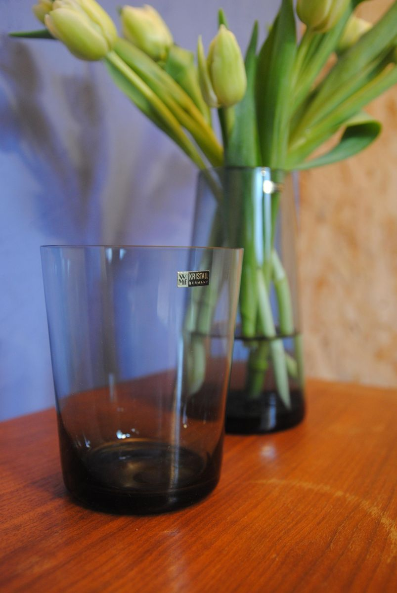Mid century tinted glass trio vases by wilhelm wagenfeld for wmf previous reviewsmspy