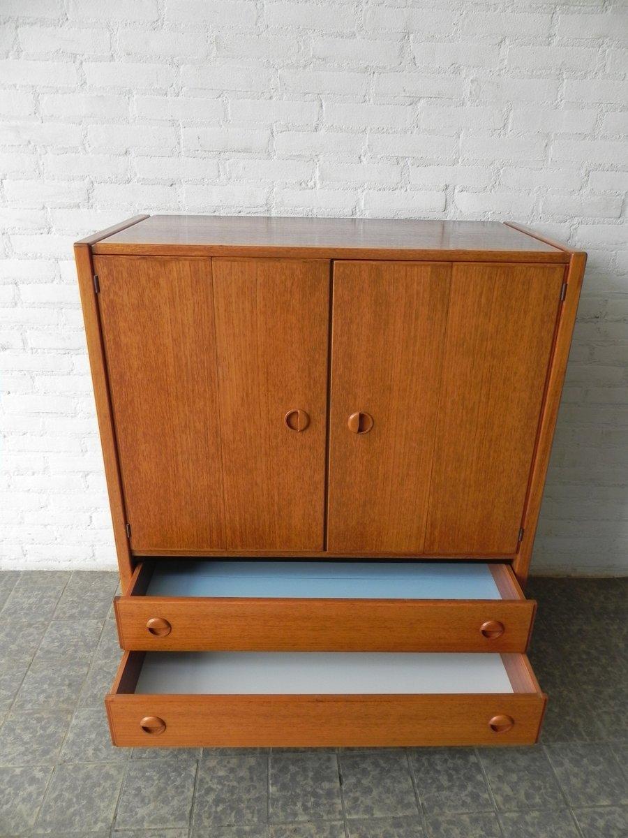 vintage schrank mit zwei t ren und zwei schubladen bei pamono kaufen. Black Bedroom Furniture Sets. Home Design Ideas
