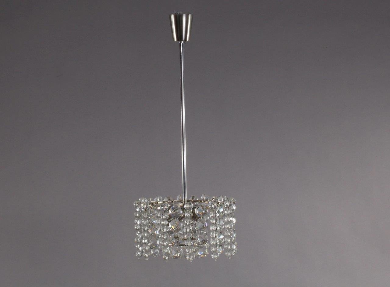 214 Sterreichischer Kristallglas Amp Nickel Kronleuchter Von