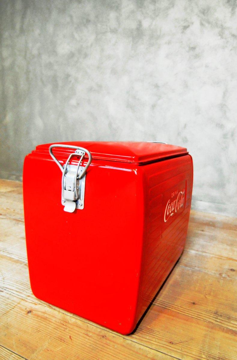 glaci re coca cola 1955 en vente sur pamono. Black Bedroom Furniture Sets. Home Design Ideas
