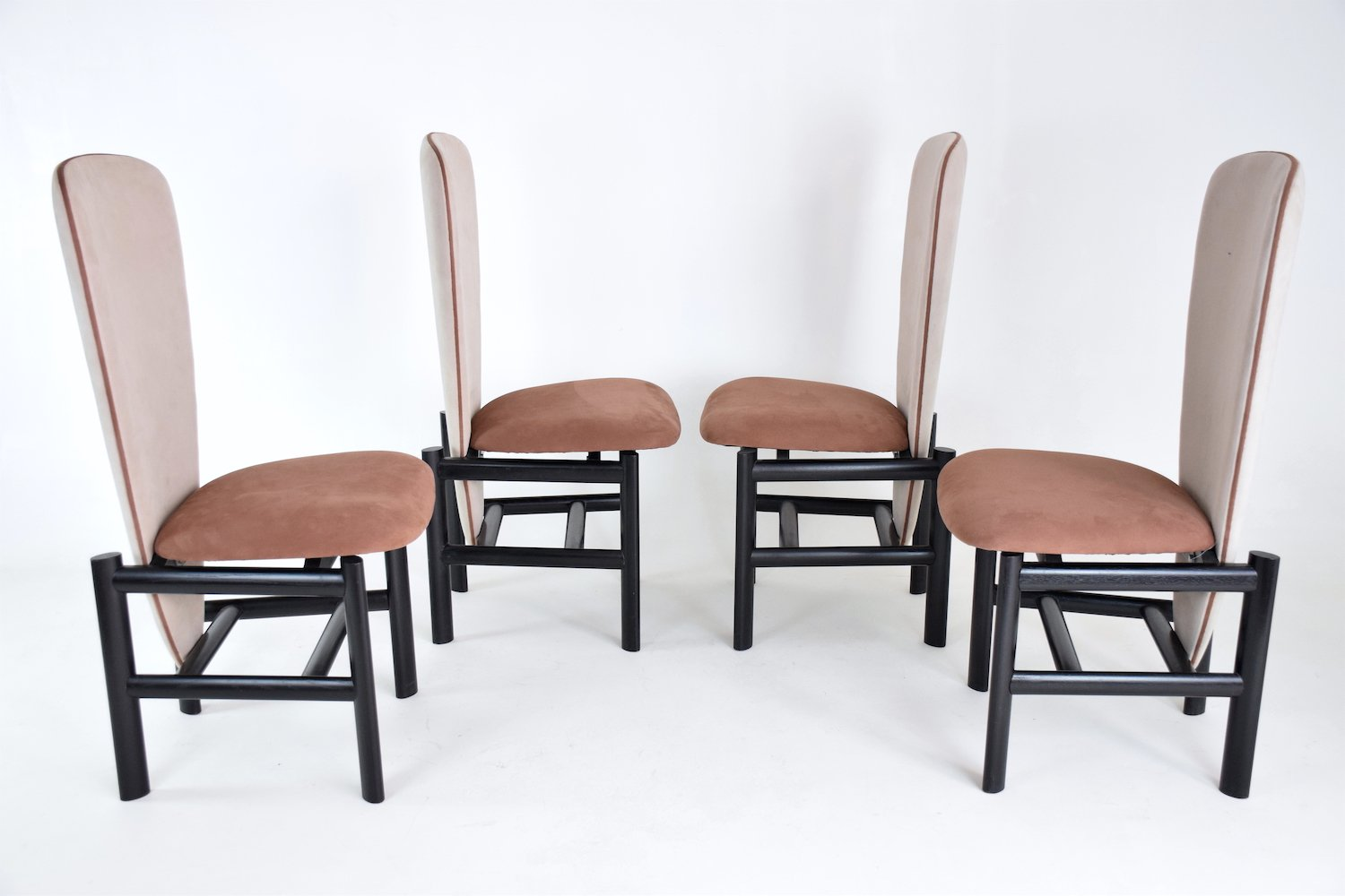 Dutch Outdoor Furniture Mid Century Dutch Dining Chairs Set Of 4 For Sale  At Pamono