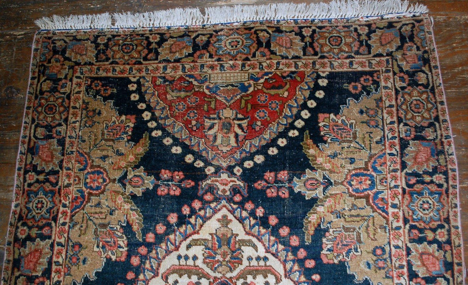 Tappeto persiano antico Malayer fatto a mano, anni \'20 in vendita ...