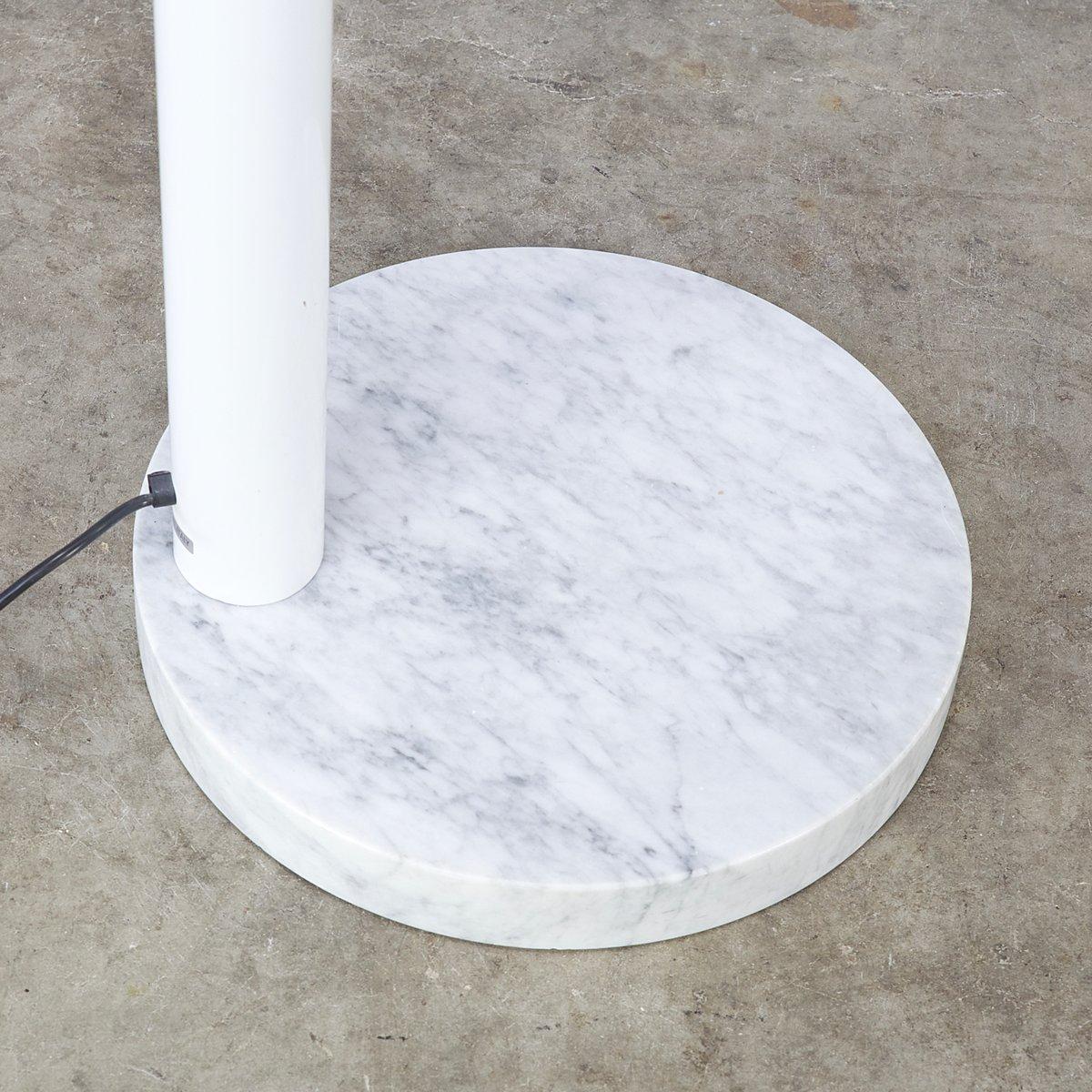 italienische bogen stehlampe aus metall chrom marmor. Black Bedroom Furniture Sets. Home Design Ideas