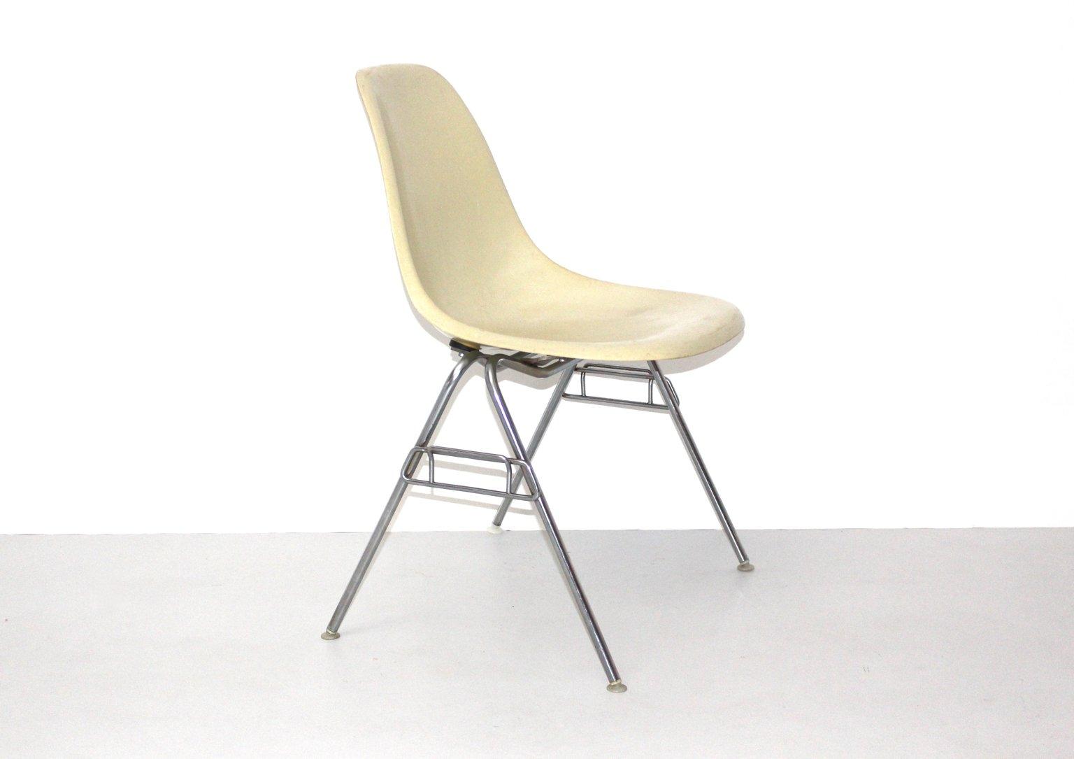 vintage model dss n fiberglas stuhl von ray charles eames fr herman miller - Herman Miller Schreibtischsthle