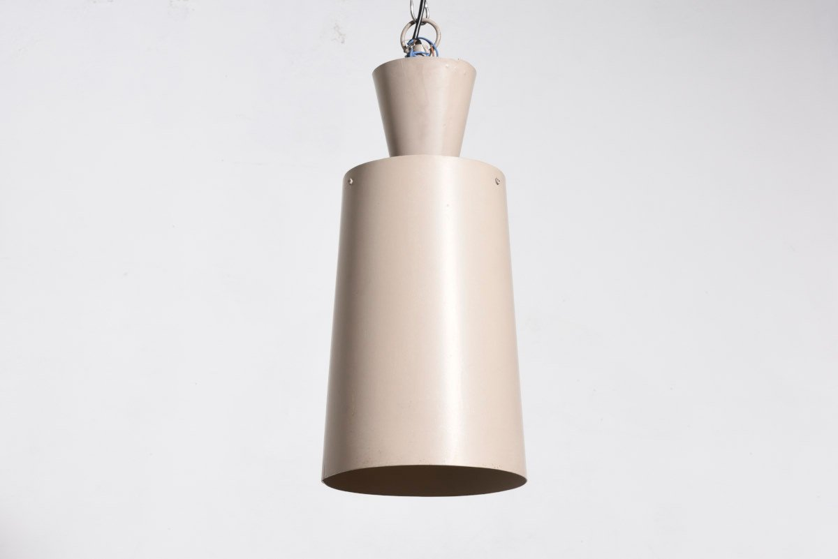 Moderne industrielle deckenlampe von philips 1959 bei for Moderne deckenlampe