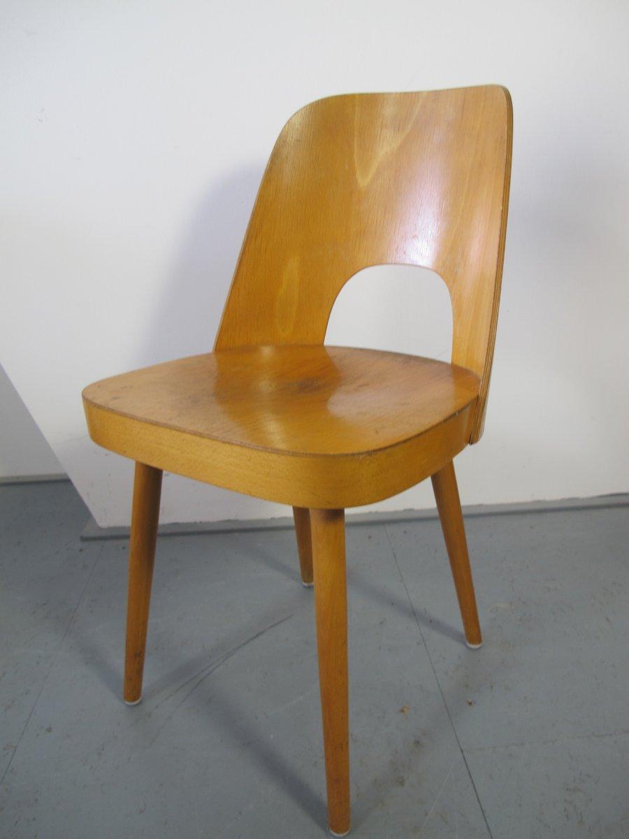 chaise en contreplaqu par oswald haerdtl pour thonet 1955 en vente sur pamono. Black Bedroom Furniture Sets. Home Design Ideas