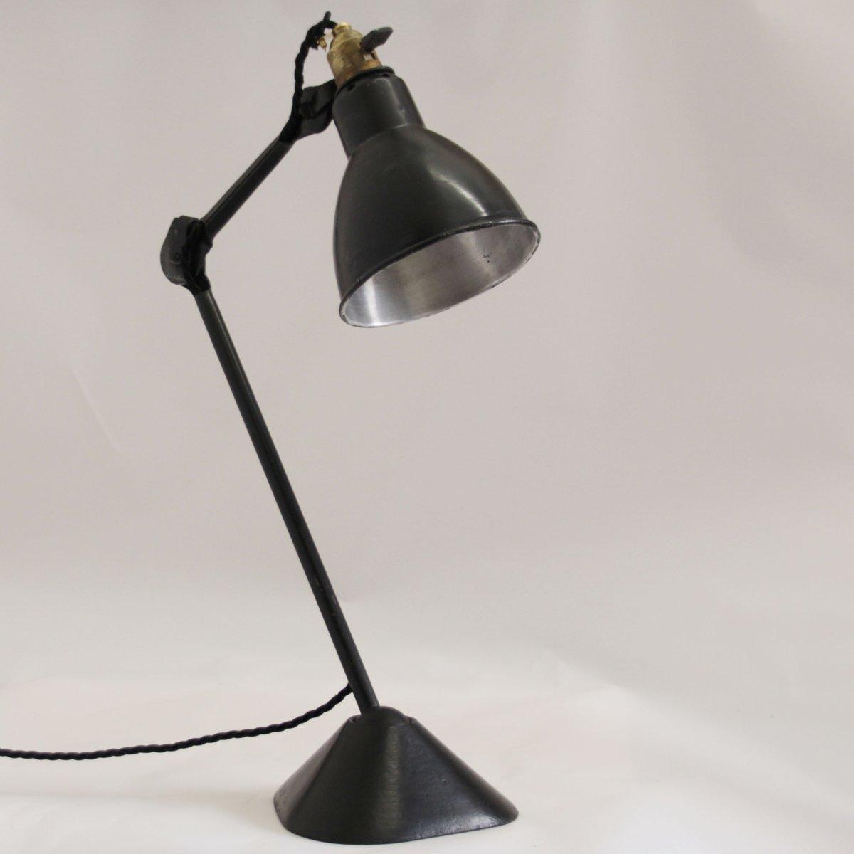 Gras Table Lamp by Bernard-Albin Gras for Ravel-Clamart, 1930s for ...