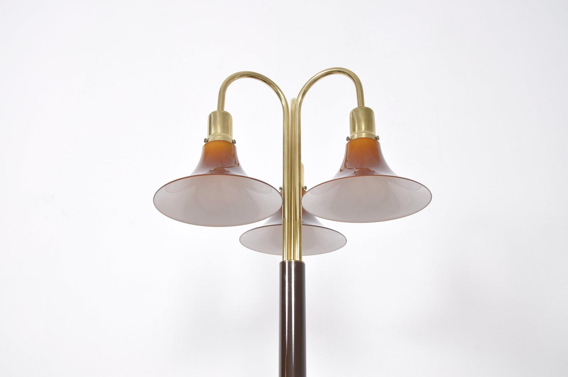 italienische vintage tulip stehlampe mit drei leuchten bei pamono kaufen. Black Bedroom Furniture Sets. Home Design Ideas