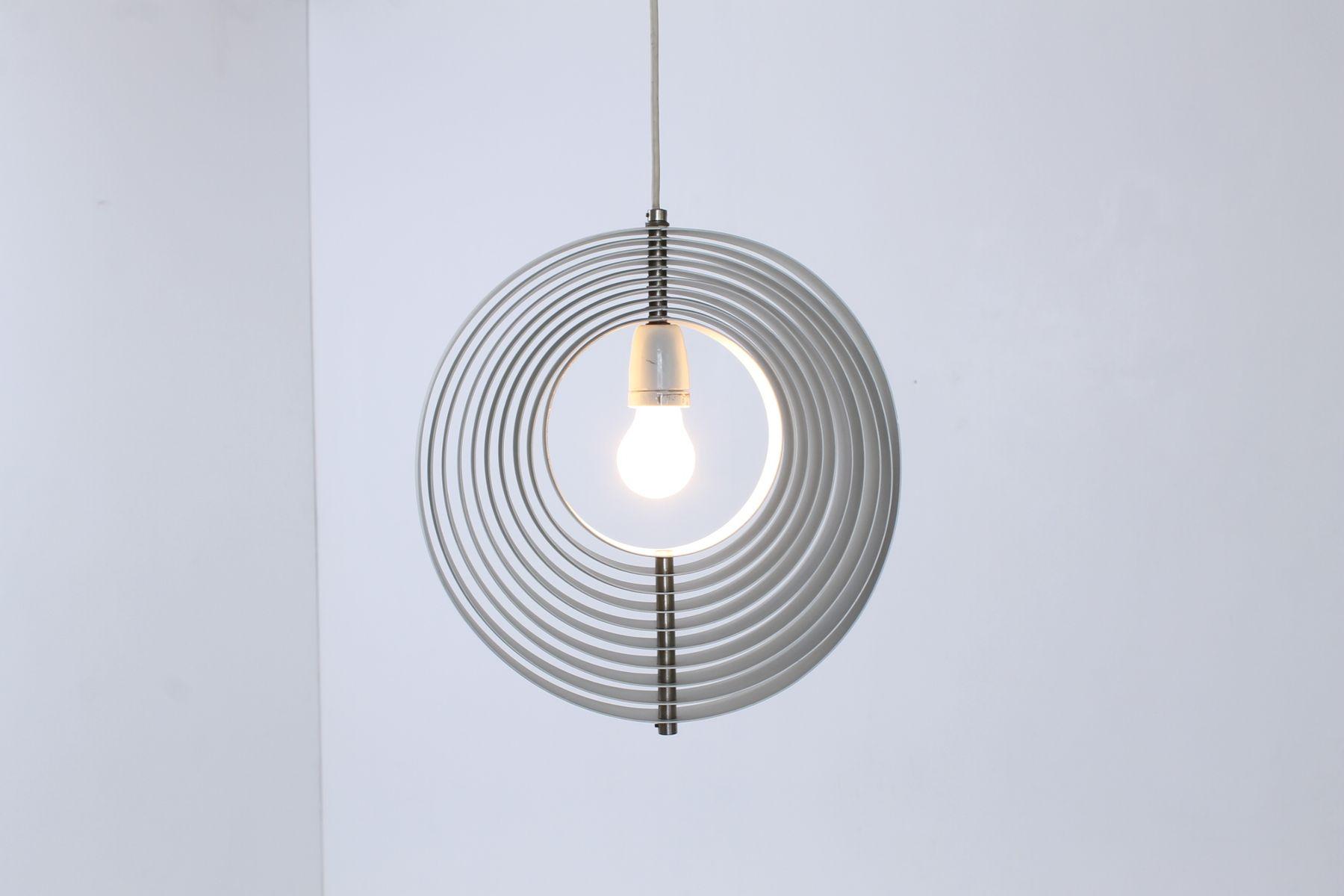 White metal moon pendant by verner panton for louis poulsen 1960s 69500 aloadofball Images