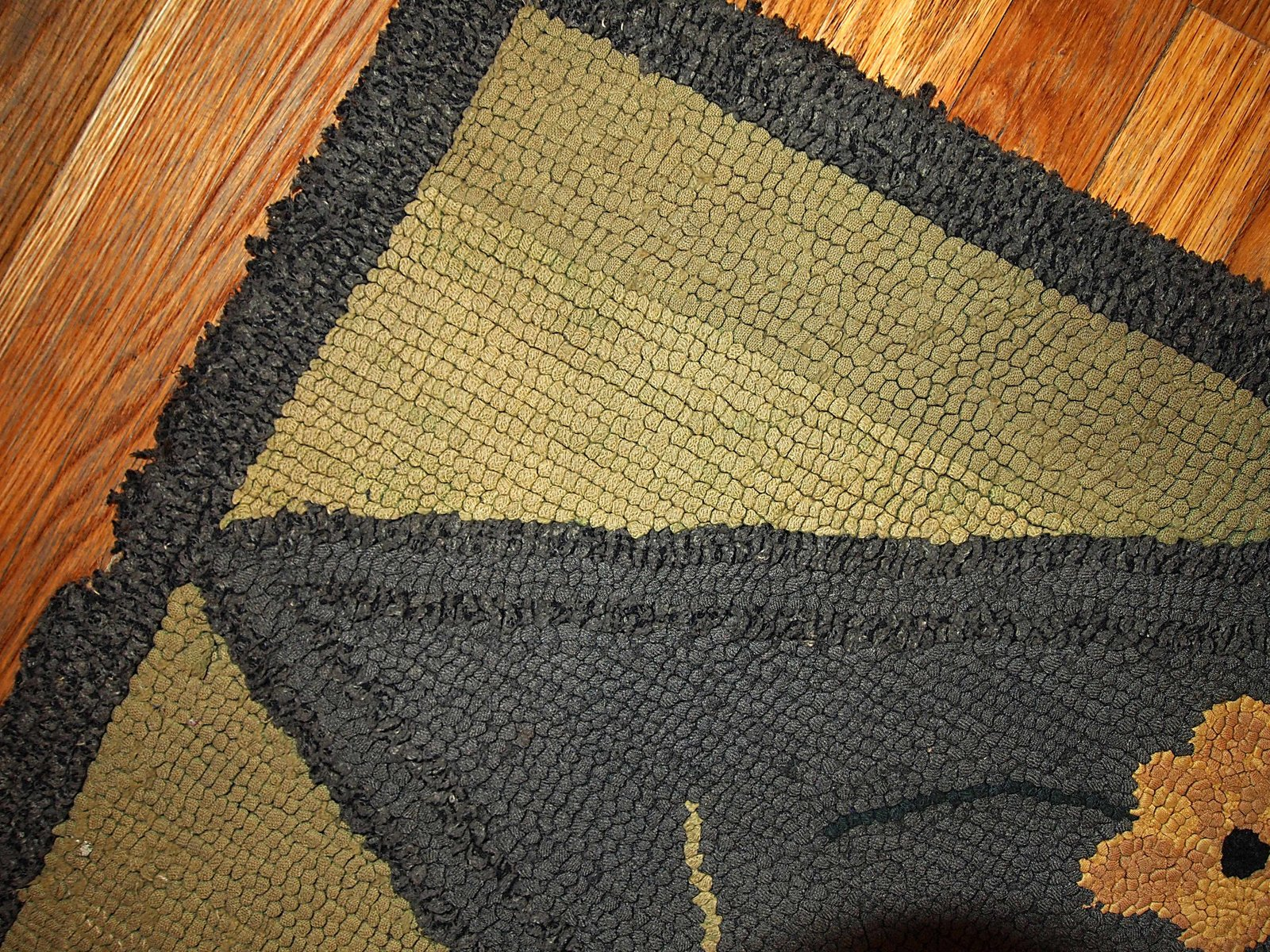 handgekn pfter antiker amerikanischer teppich 1900er bei pamono kaufen. Black Bedroom Furniture Sets. Home Design Ideas