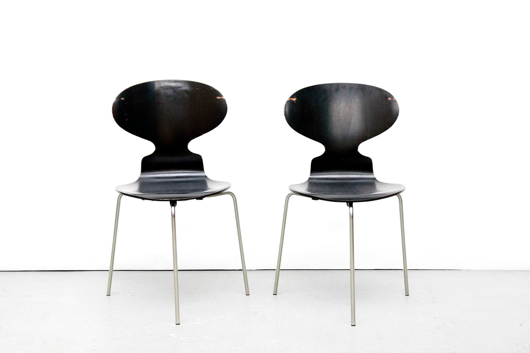 modell fh 3100 ant st hle von arne jacobsen f r fritz hansen 1969 6er set bei pamono kaufen. Black Bedroom Furniture Sets. Home Design Ideas