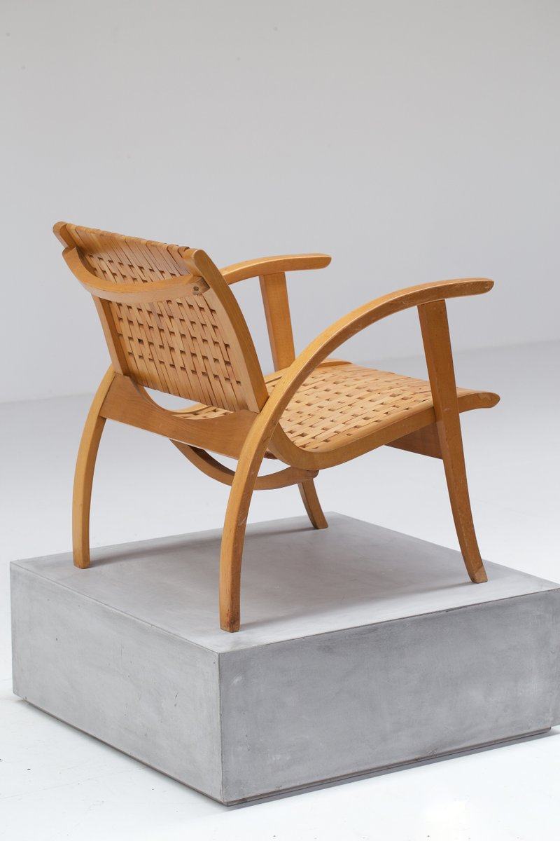 Lounge Chair By Erich Dieckmann For Gelenka 1930s For