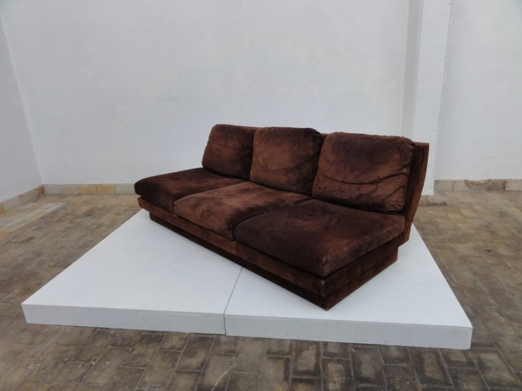 Sofa by Willy Rizzo for Studio Willy Rizzo, 1969 for sale at Pamono