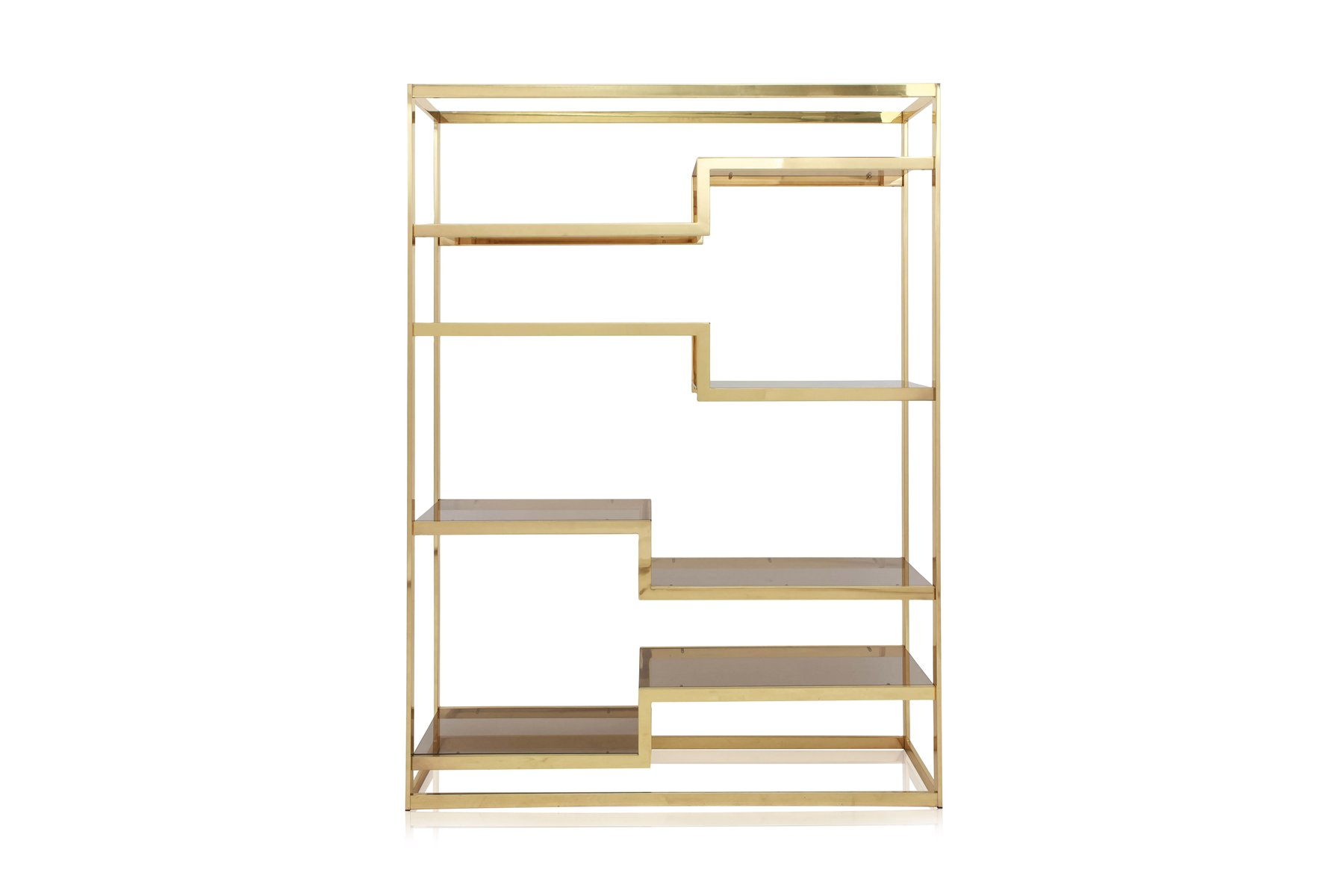 golden etagere from belgochrom 1980s for sale at pamono. Black Bedroom Furniture Sets. Home Design Ideas