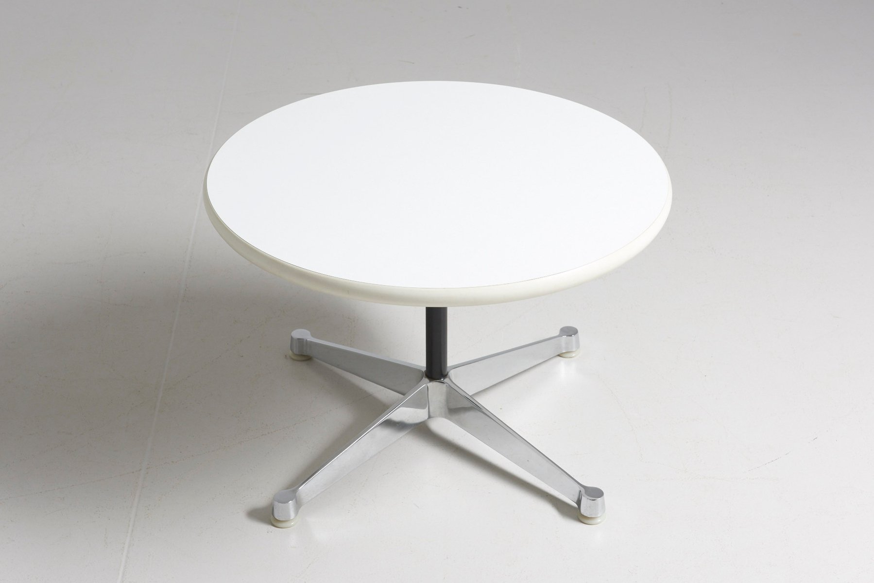 Mid Century Round Side Table by Charles & Ray Eames for Herman