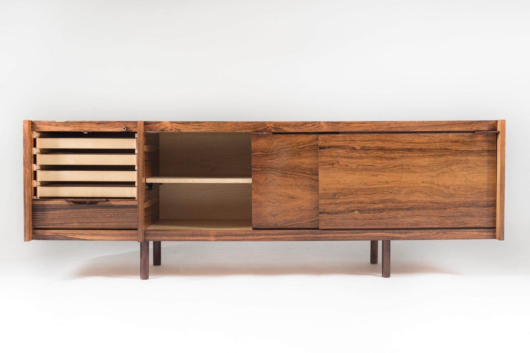 skandinavisches palisander sideboard von sven ivar dysthe. Black Bedroom Furniture Sets. Home Design Ideas