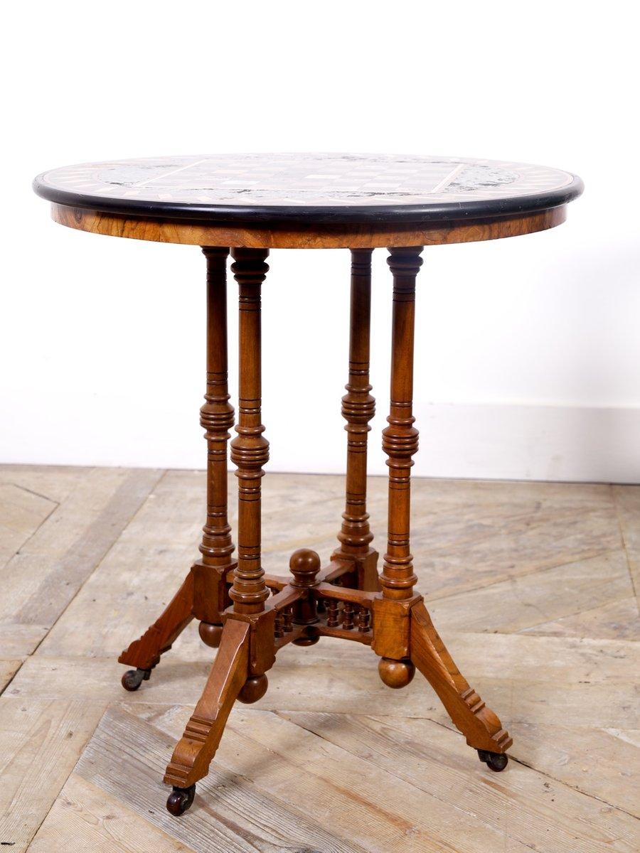 Marmor tisch 1860er bei pamono kaufen for Carrara marmor tisch