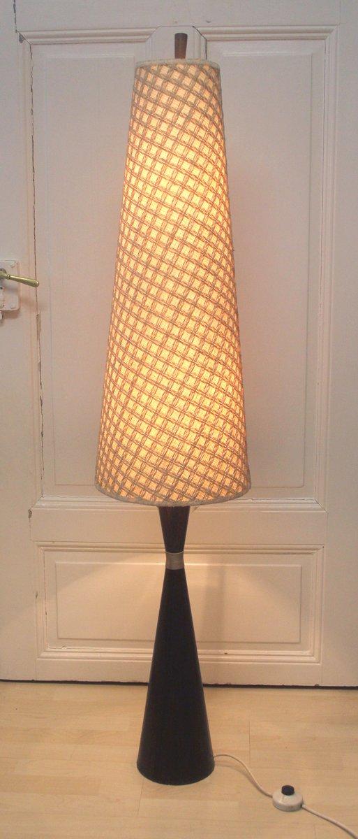 d nische palisander stehlampe 1960er bei pamono kaufen. Black Bedroom Furniture Sets. Home Design Ideas