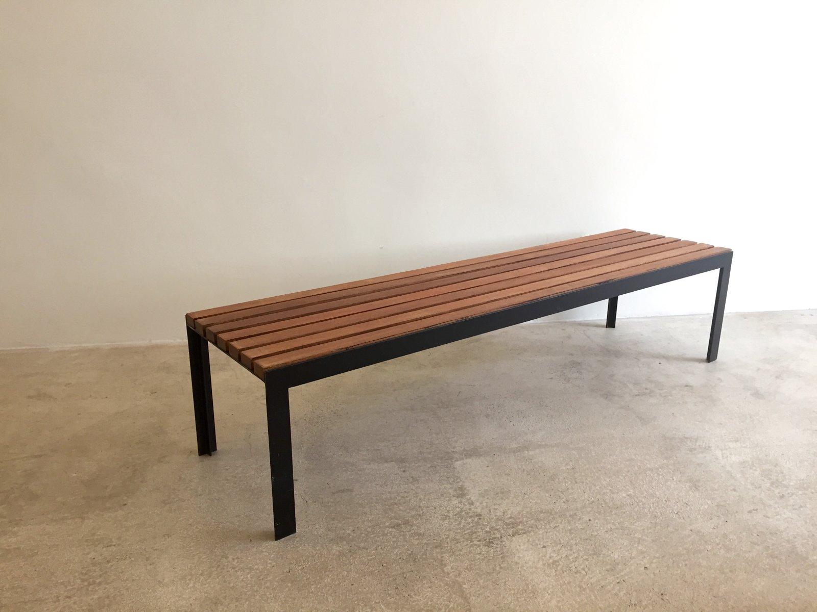 Modernist T Slat Bench 1965 for sale at Pamono