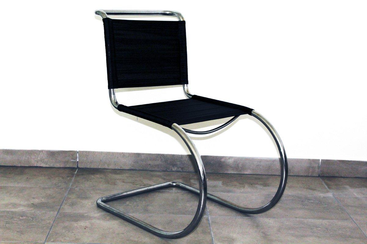 Tubular steel chair by ludwig mies van der rohe 1930s for - Mies van der rohe sedia ...