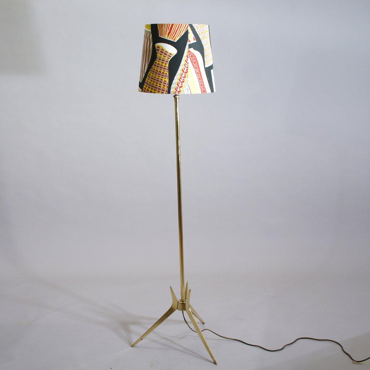 Elegant Stehlampe Mit Schirm Das Beste Von Schwedische Vintage Im Sanderson Bezug