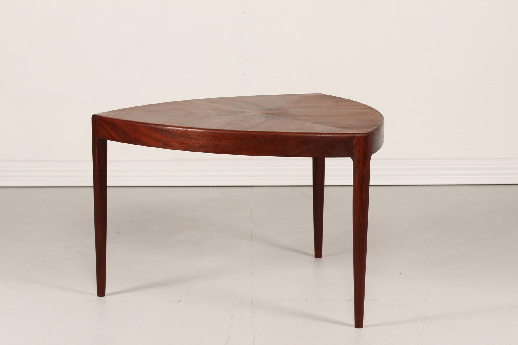 Vintage Danish Triangular Coffee Table 1950s for sale at Pamono
