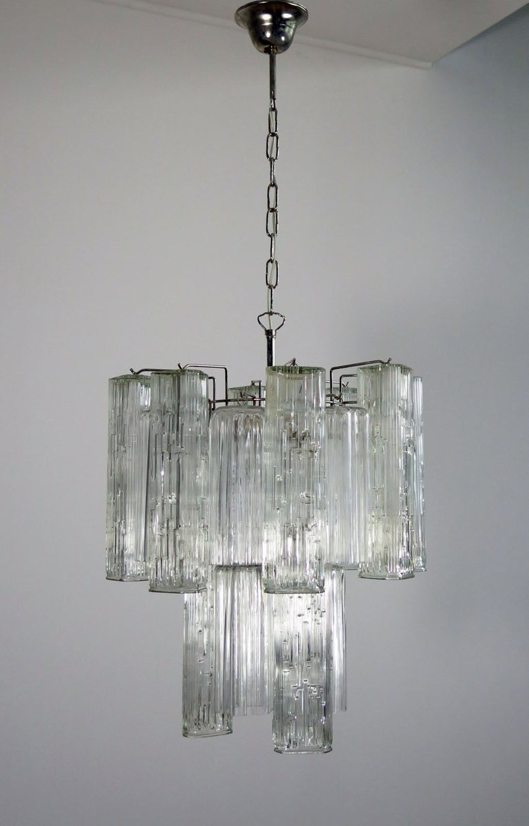 chandelier vintage en verre de murano de murano en vente sur pamono. Black Bedroom Furniture Sets. Home Design Ideas